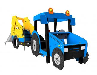 structure tracteur - gl inox - 1/8 ans