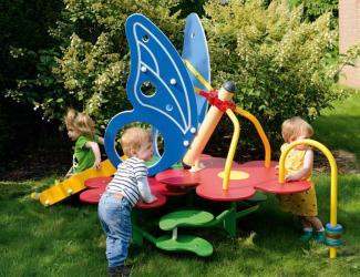 le jardin des papillons - 1/3 ans