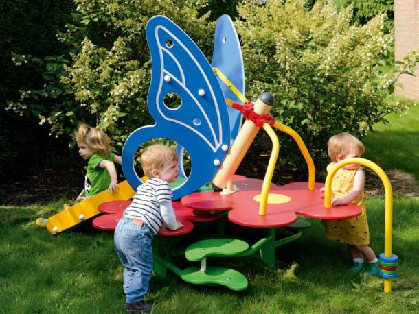 le jardins des papillons - 1/3 ans