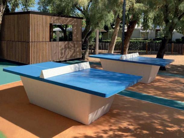 table ping pong square filet securi - vert